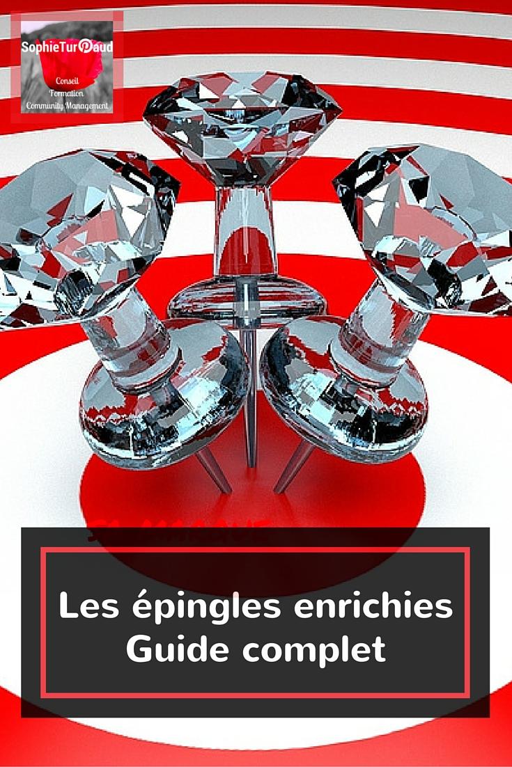 Les épingles enrichies - Guide Complet via @sophieturpaud