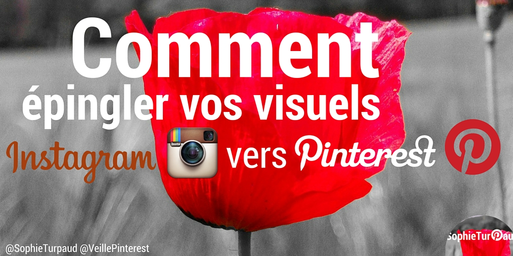 Instagram vers Pinterest