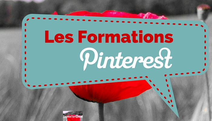 Les formations Pinterest