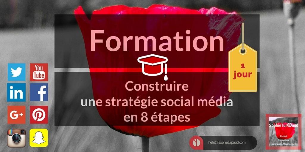 Formation stratégie social média
