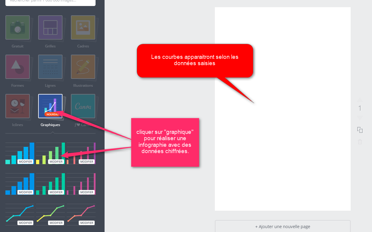 Infographie avec la version graphique de Canva via @sophieturpaud