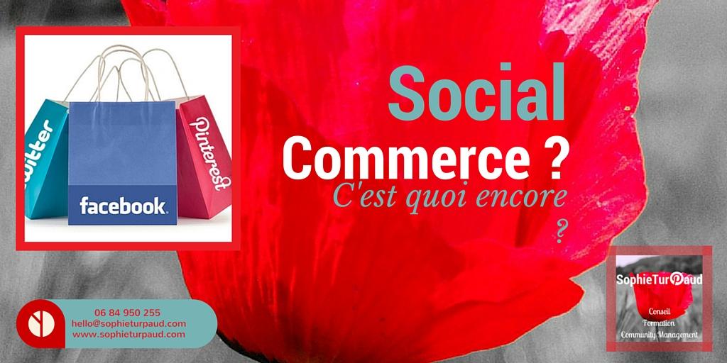 C'est quoi le social commerce en fait ?