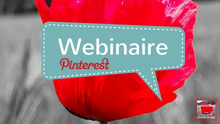 Webinaire Pinterest , Les 7 outils du community manager ?