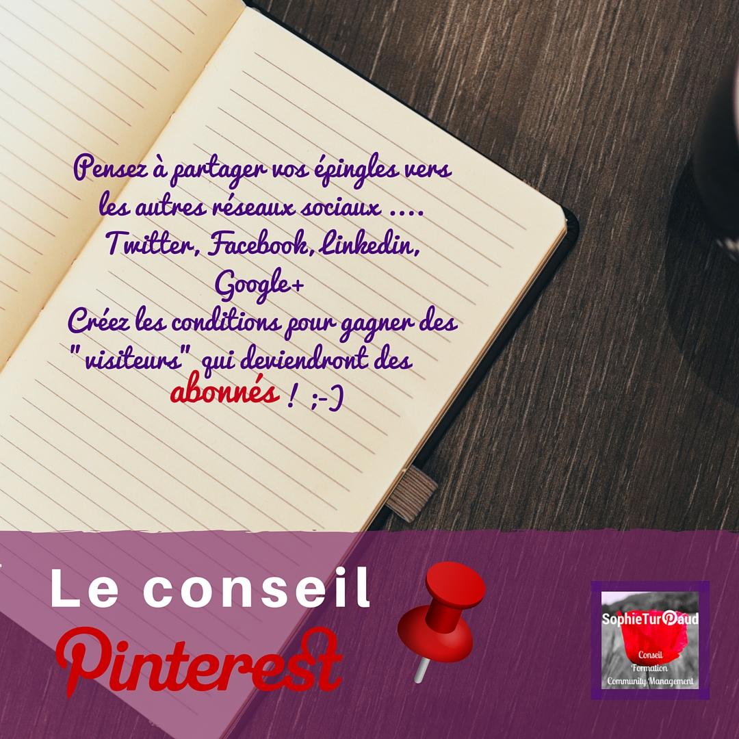 Conseil Pinterest