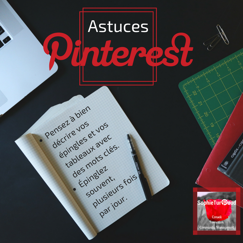 Astuces Pinterest via @sophieturpaud