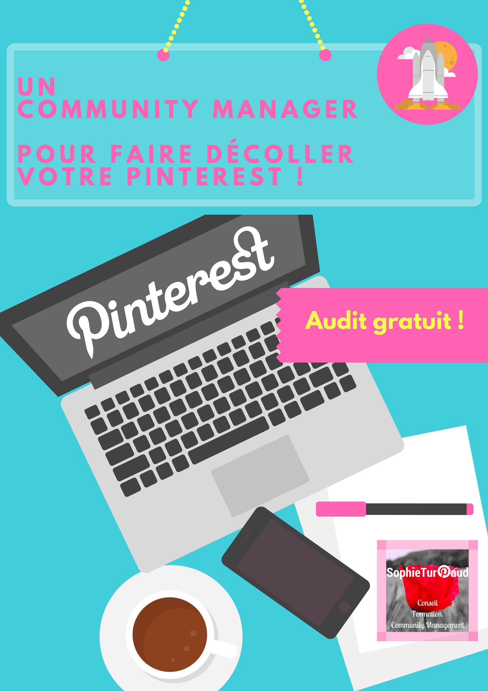 Un community manager pour faire décoller votre Pinterest via @sophieturpaud