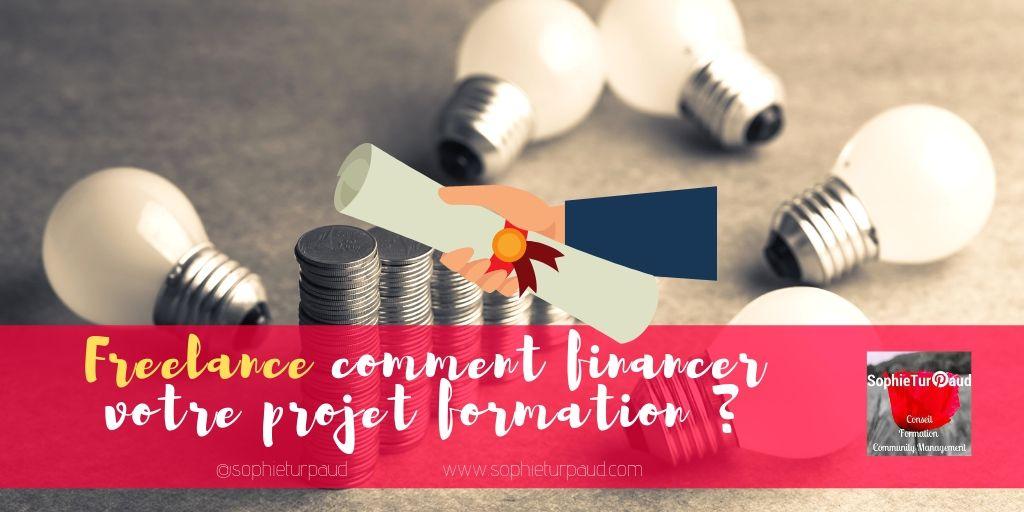 Freelance : comment financer votre projet formation ?