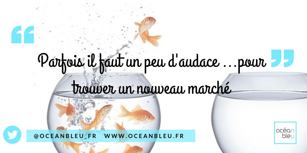 Parfois il faut un peu d'audace pour trouver un nouveau marché via @oceanbleu
