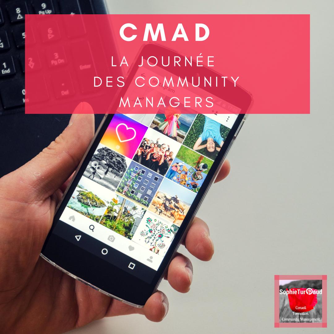 CMAD la journée des community managers via @sophieturpaud