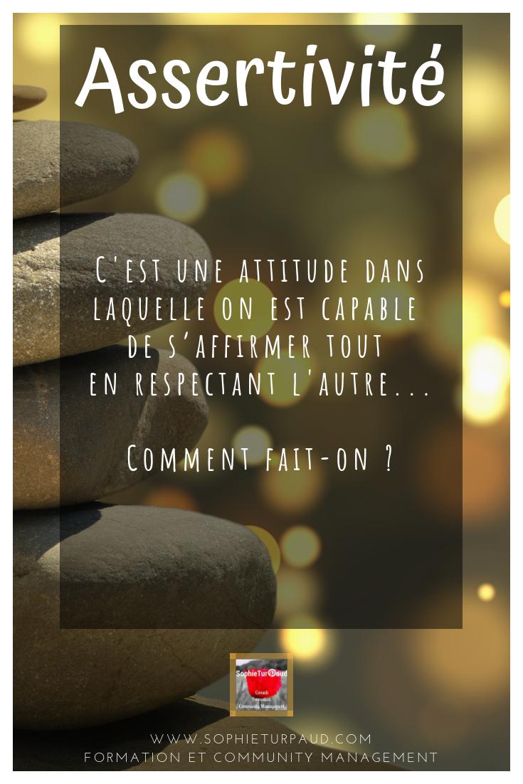 Définition de l'assertivité #affirmationdesoi #citation via @sophieturpaud