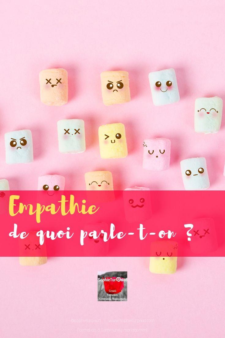 Empathie de quoi parle-t-on ? via @sophieturpaud #communication #relationclient