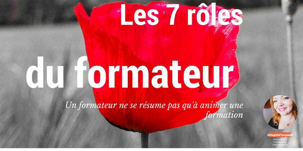 Les 7 Rôles du Formateur