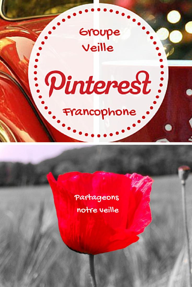 Partageonsnotre veille : Groupe Veille Pinterest Francophone