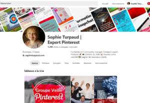 Compte Pinterest sophie turpaud 2018