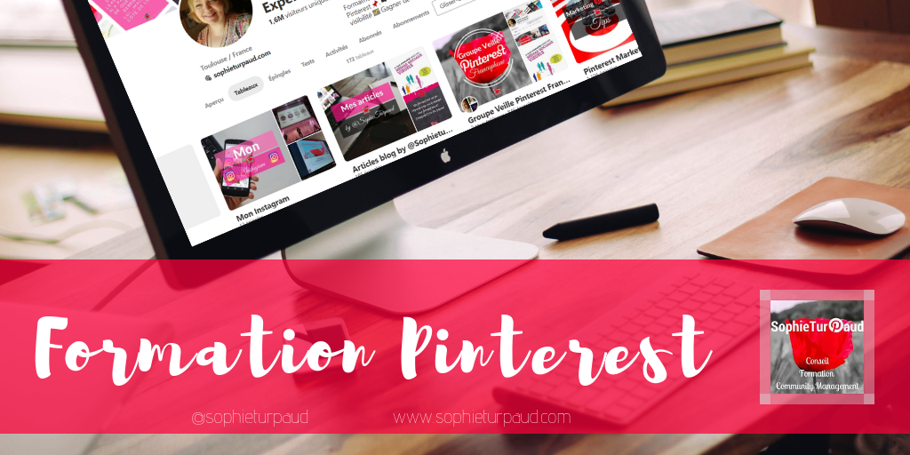 Formation Pinterest via @sophieturpaud / #PinterestMarketing #CommunityManager