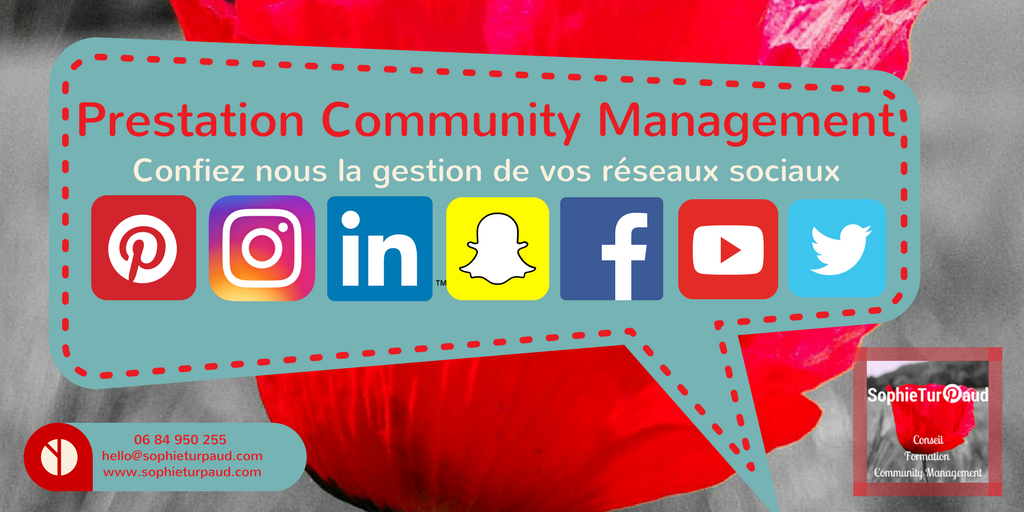 Prestation community management, pour gérer vos réseaux sociaux : expert Pinterest