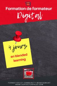 Formation de formateur digital Via @sophieturpaud #elearning #blendedlearning