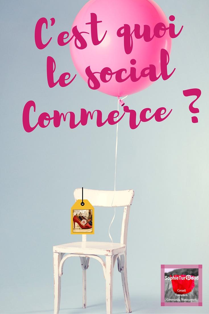 C'est quoi le social commerce via @sophieturpaud ?