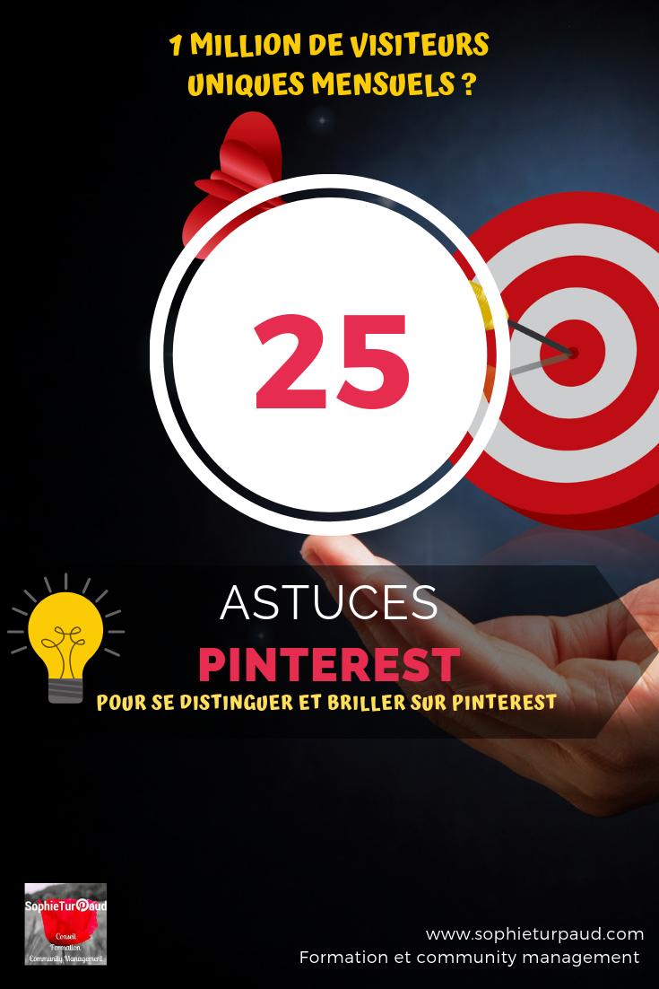 25 astuces Pinterest pour se distinguer et briller via @sophieturpaud