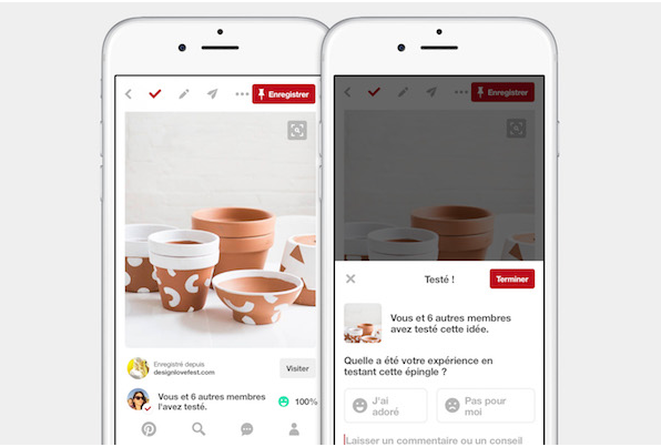 Les tests d'épingles Pinterest via @sophieturpaud #EcommerceEbook