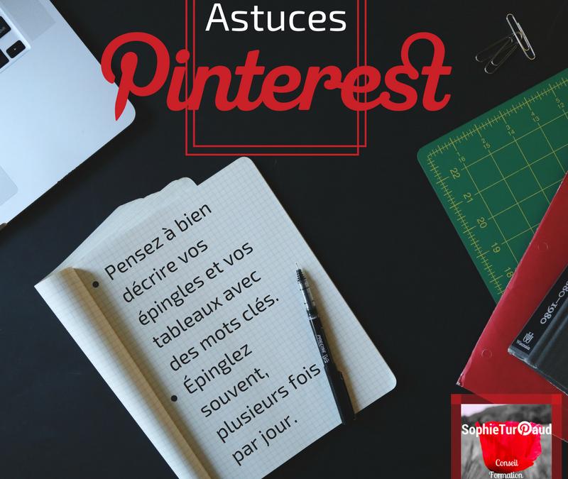 Astuces Pinterest