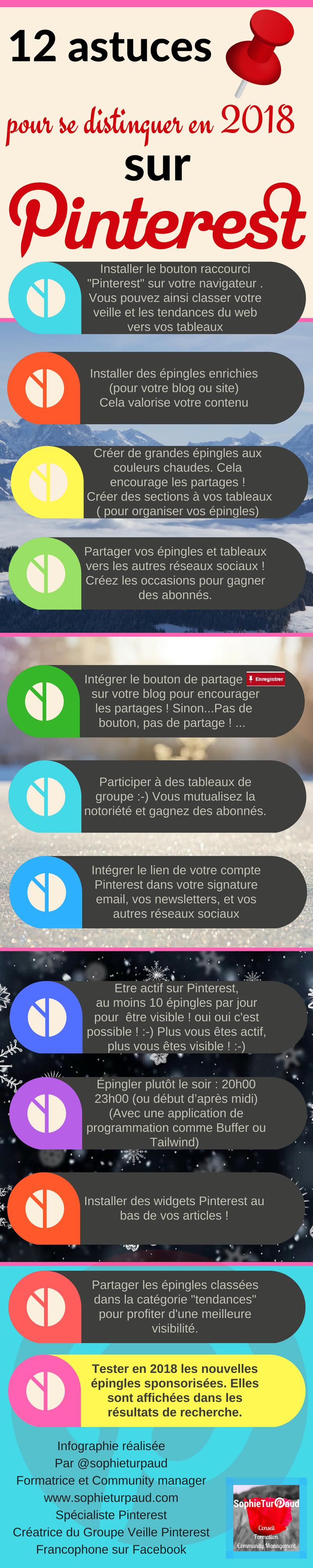 12 astuces pour se distinguer sur Pinterest via @sophieturpaud