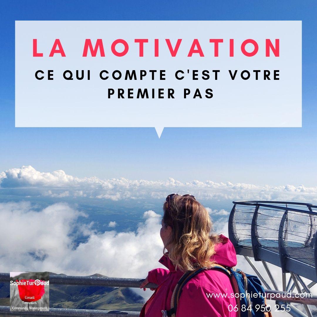 Citation Motivation Ce qui compte c'est votre premier pas via @sophieturpaud #citation #motivation