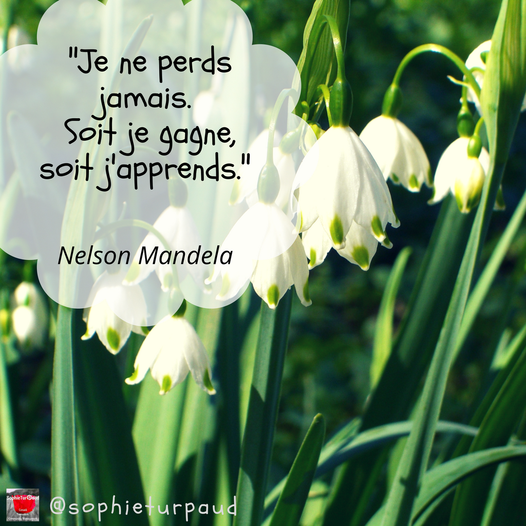 Citation Nelson Mandela.. via @sophieturpaud