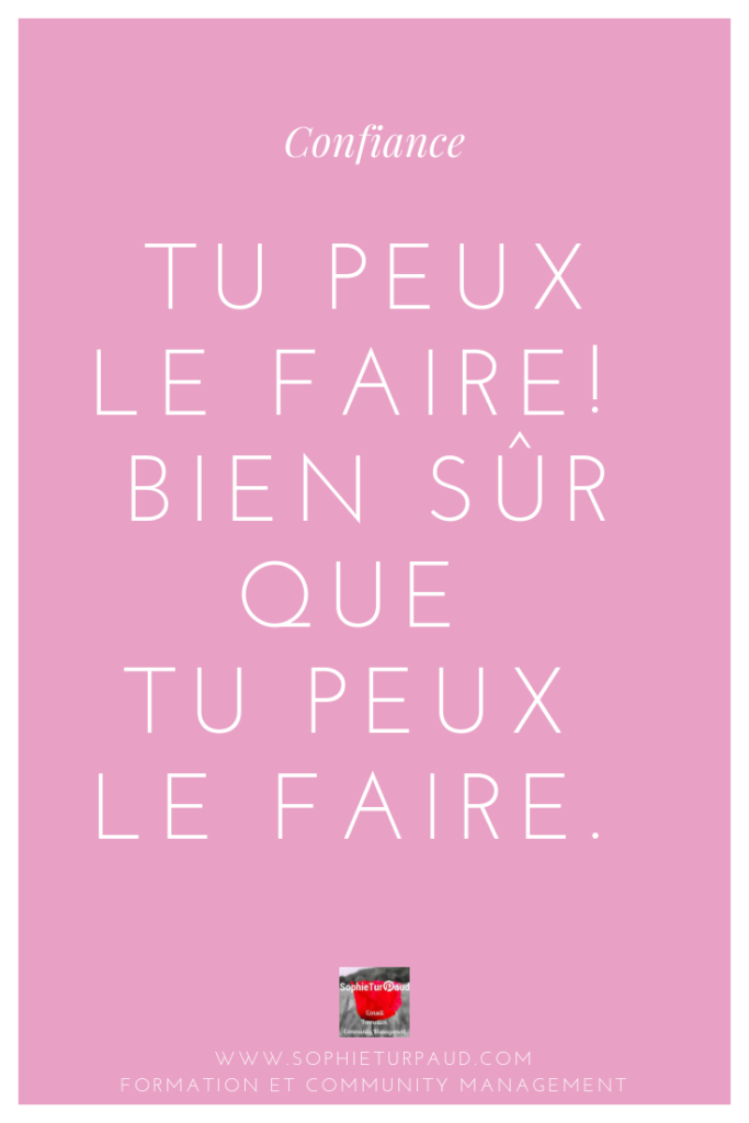 Citation tu peux le faire via @sophieturpaud