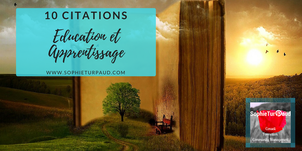 10 citations éducation formation et apprentissage via @sophieturpaud