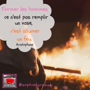 Citation Aristophane via @sophieturpaud