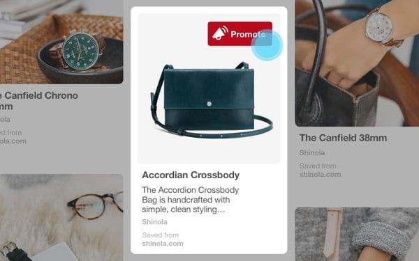 Les Publicités Pinterest seront déployées courant été 2018.
