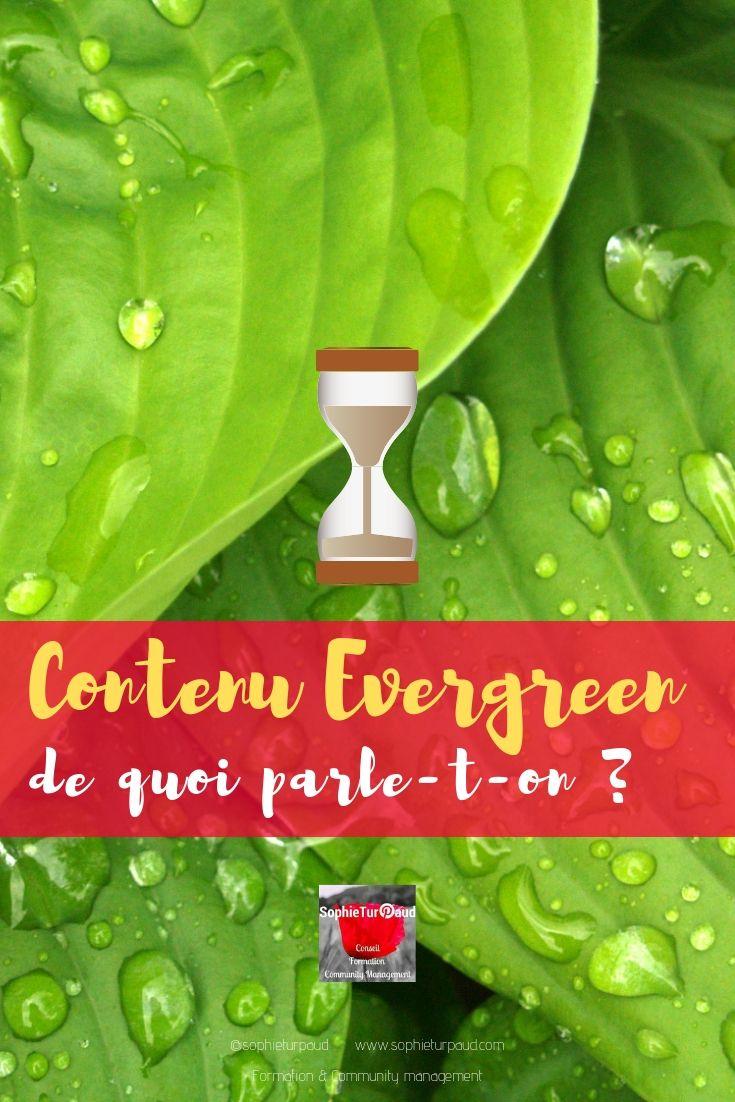 Contenus evergreen, de quoi parle-t-on ? via @sophieturpaud #Blog #ContentMarketing