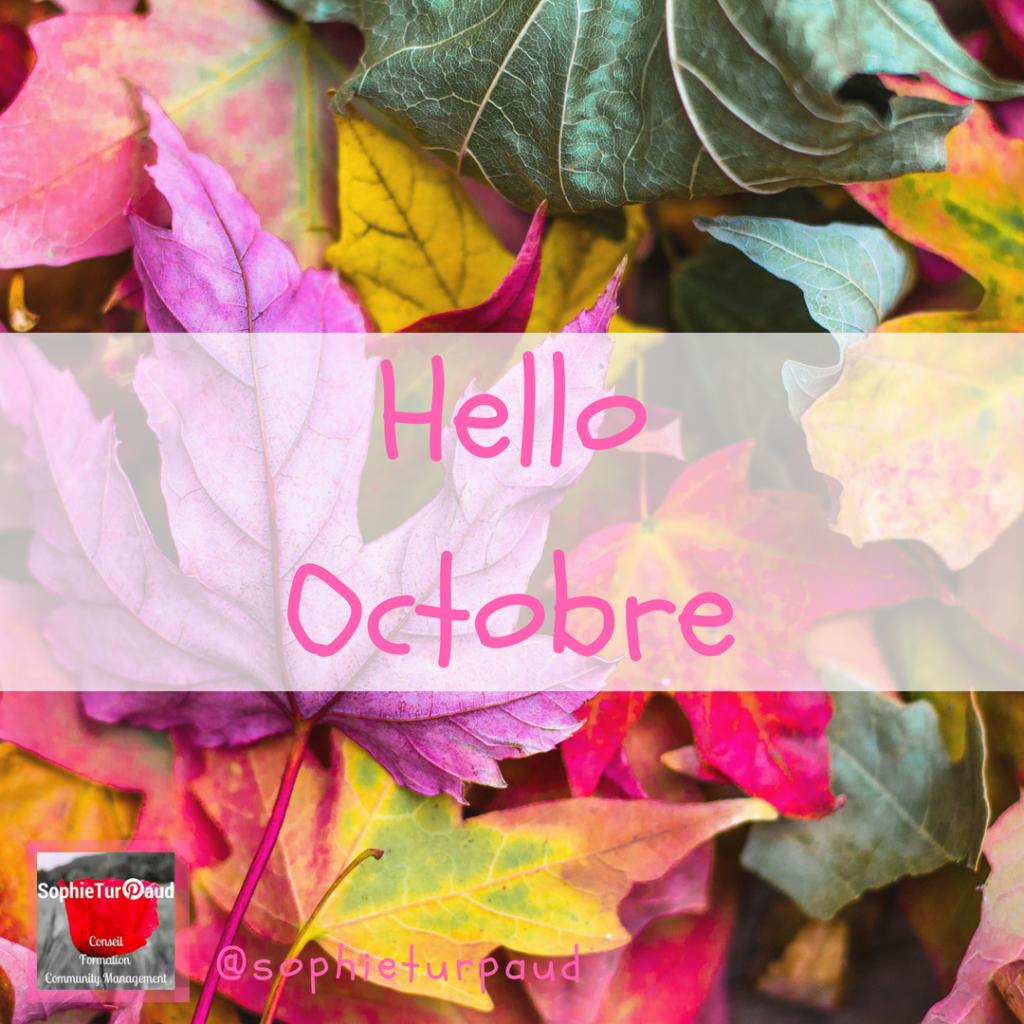 Hello Octobre et les tendances Pinterest via @sophieturpaud