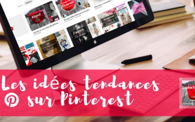 Les tendances Pinterest automne hiver