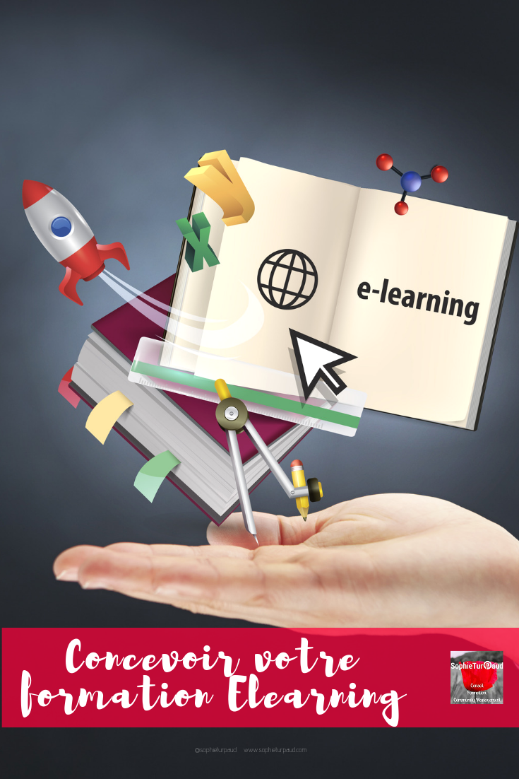 "Formation ""Concevoir votre formation elearning"" via @sophieturpaud #elearning #formpro"