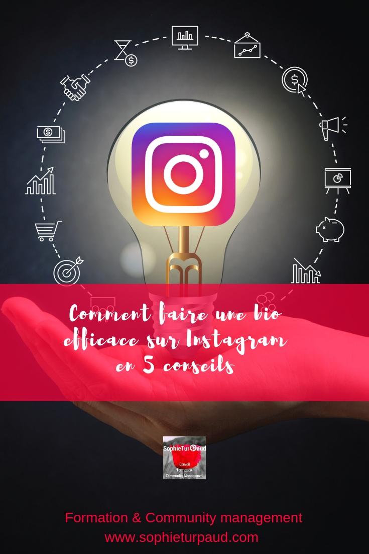 instagram   5 conseils pour une bio efficace