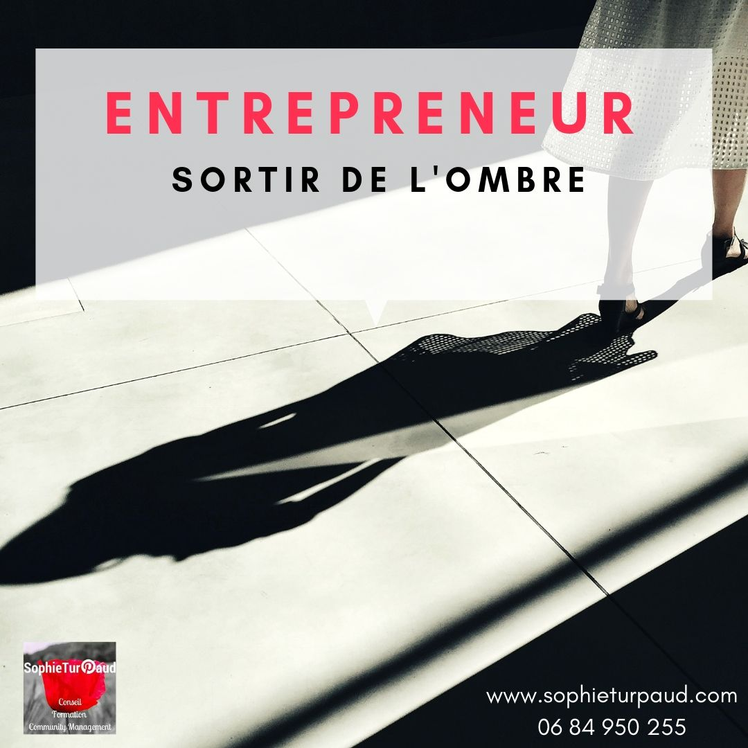 Entrepreneur comment sortir de l'ombre ? via @sophieturpaud #inboundmarketing #prospect #lead