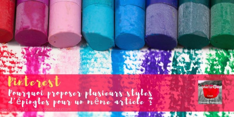 Pinterest : Pourquoi proposer plusieurs styles d'épingles pour un même article ?