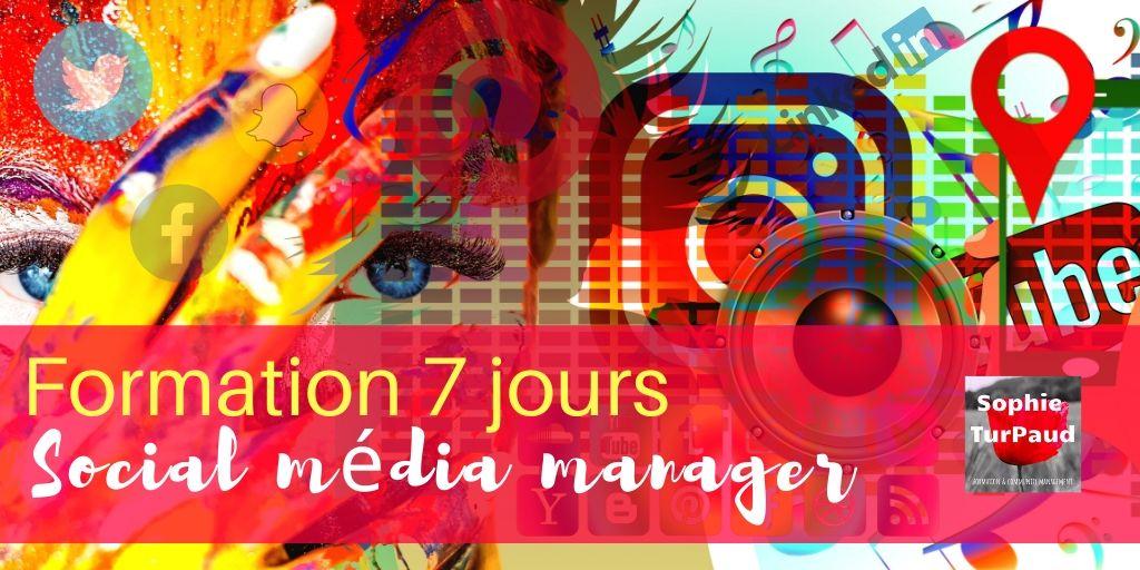 Formation social média manager via @sophieturpaud #SMM #CM