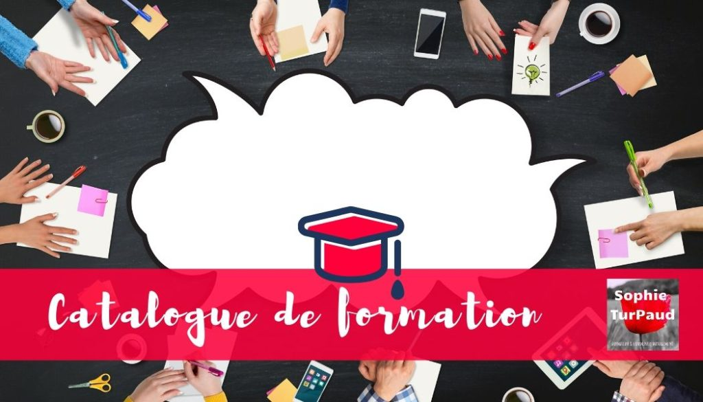 Catalogue de formation via @sophieturpaud
