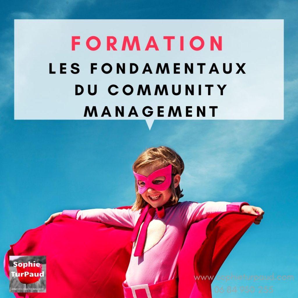 Formation les fondamentaux du community management en 3 jours via @sophieturpaud #socialmedia #CM via @sophieturpaud