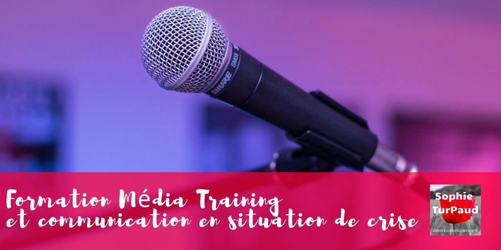 Formation média training et communication en situation de crise via @sophieturpaud