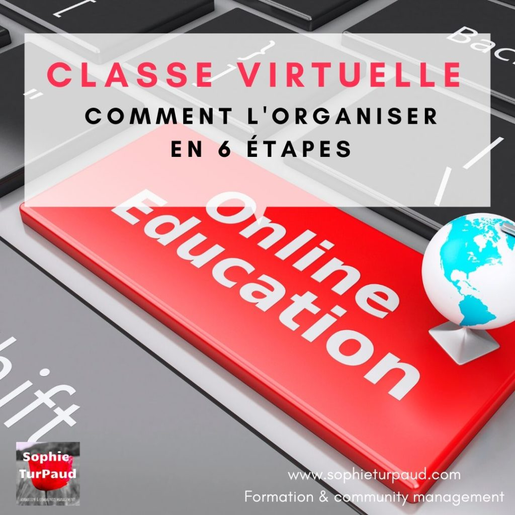Comment organiser une classe virtuelle en 6 étapes _ via @sophieturpaud