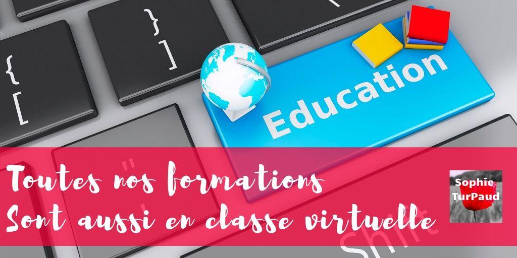 Formations en classe virtuelle via @sophieturpaud