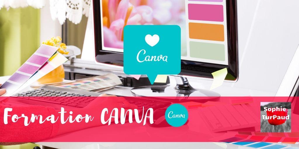 Formation Canva pour créer vos visuels via @sophieturpaud
