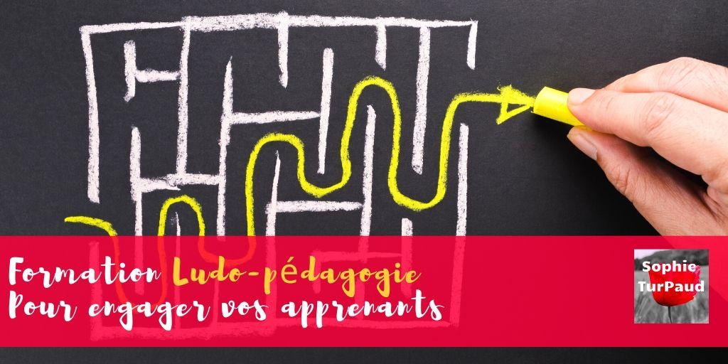 Formation Ludo-pédagogie Pour engager vos apprenants via @sophieturpaud