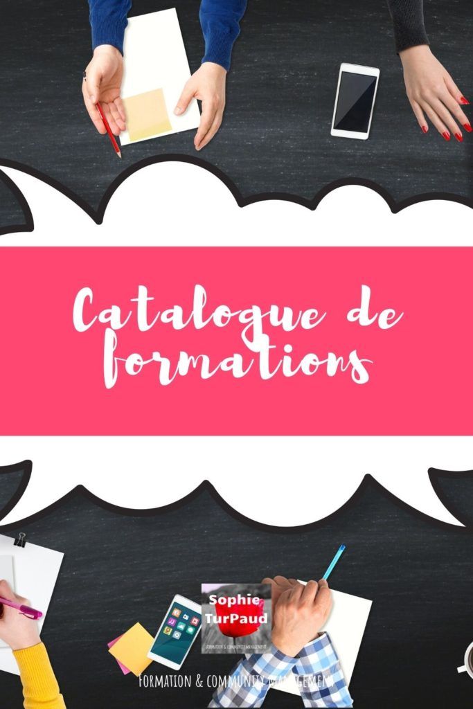 Mon catalogue de formations via @sophieturpaud