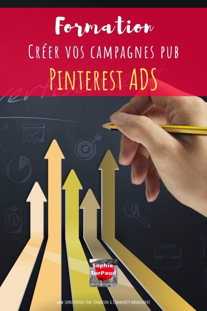 Formation Pinterest ADS : créer vos campagnes pub sur Pinterest via @sophieturpaud