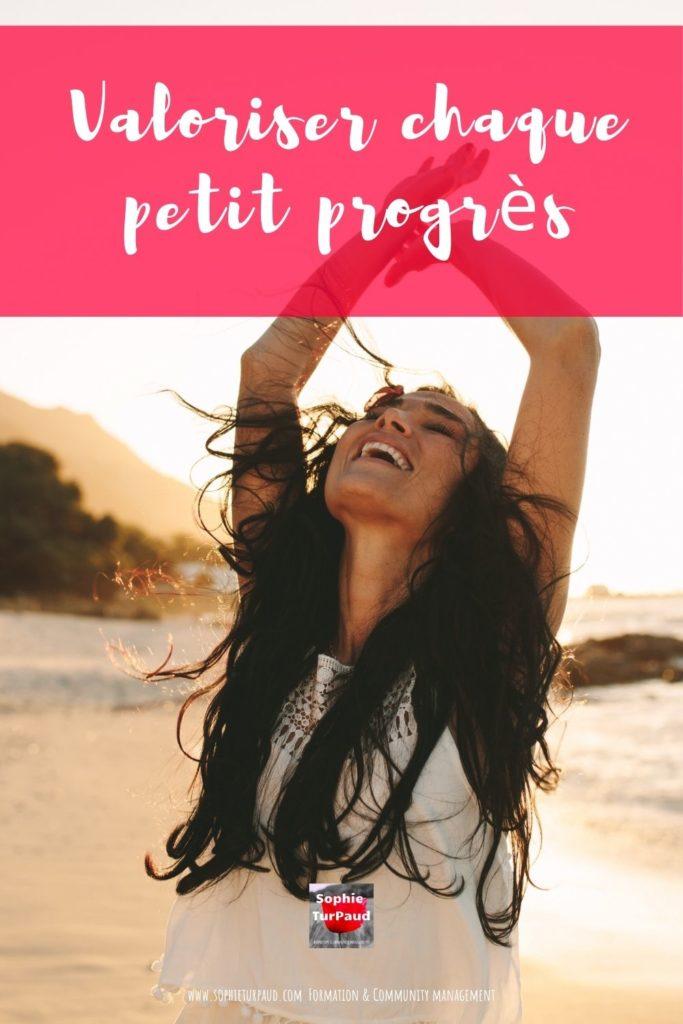 Valoriser chaque petit progrès _ via @sophieturpaud